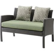 Hanover Chelsea 6 Piece Space-Saving Patio Set with Cushion; Cilantro Green