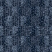 4urFloor Smart Transformations 24'' X 24'' Carpet Tile in Denim