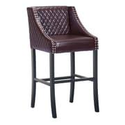 Zuo Modern Santa Ana Bar Chair Brown (WC98616)