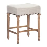 Zuo Modern Anaheim Counter Stool Beige (Set of 2) (WC98604)