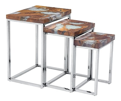 Zuo Modern Fissure Nesting Tables (WC100170) 2381533