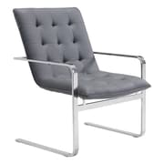 Zuo Modern Solo Occasional Chair Gray (WC100276)