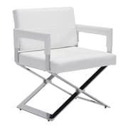 Zuo Modern Yes Dining Chair White (WC100383)