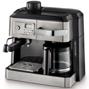 DeLonghi Combination Coffee & Espresso Maker; Stainless Steel