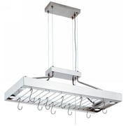 Lithonia Lighting Pot Rack Decorative Linear in Polished Stainless Steel
