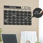SimpleShapes 2016 Calendar Chalkboard Vinyl Wall Decal