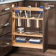 Rev-A-Shelf 5'' Pull-Out Cabinet Utensil Organizer