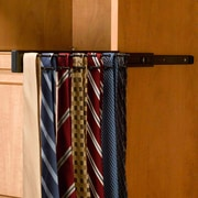 Rev-A-Shelf Pull-Out Side Mount Tie Rack; Oil Rubbed Bronze