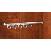 Rev-A-Shelf Pull-Out Belt Scarf Organizer; Chrome