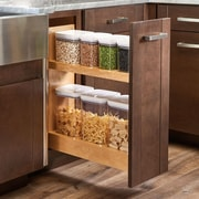 Rev-A-Shelf Pull-Out Wood Base Cabinet OXO Organizer