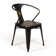 Aeon Furniture Gisela Arm Chair (Set of 2); Copper
