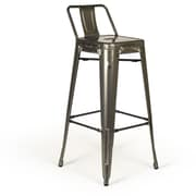 Aeon Furniture Rondo Bar Stool (Set of 2); Metal