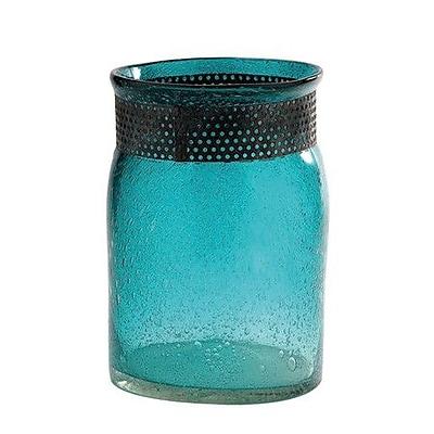 Diamond Star Glass Vase; 11.5'' H x 8'' W x 8'' D WYF078278845009