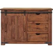 International Furniture Direct Parota TV Stand