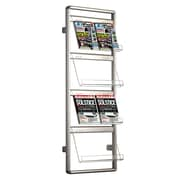 MT Displays Wall Mounted Brochure Rack
