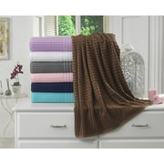 Berrnour Home Piano Bath Towel (Set of 2); Brown