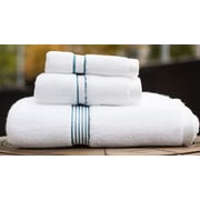 Fabbrica Home Bath Everplush Performance Core Bath Towel; Slate Blue