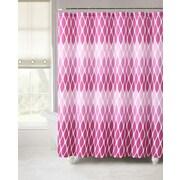 Luxury Home Janson Embossed Microfiber Shower Curtain