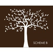 Wall Decal Source Family Tree Nursery Wall Decal; Scheme B