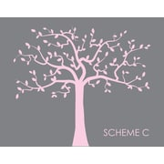 Wall Decal Source Family Tree Nursery Wall Decal; Scheme C