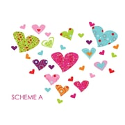 Wall Decal Source Heart Wall Decal; Scheme A
