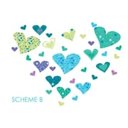 Wall Decal Source Heart Wall Decal; Scheme B
