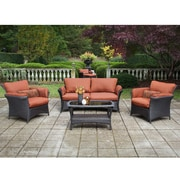 Hanover Strathmere Allure 4 Piece Deep Seating Group with Cushion