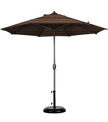 California Umbrella 9' Sunline Market Umbrella; Terrace Sequoia WYF078278848298