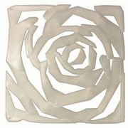 Winport Industries 11.5'' x 11.5'' Rose Model Room Divider; White