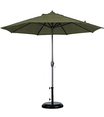 California Umbrella 9' Sunline Market Umbrella; Terrace Fern WYF078278848299