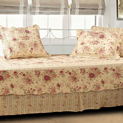 Greenland Home Fashions Antique Rose 5 Piece