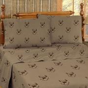 Blue Ridge Trading Whitetail Ridge Cotton Sheet Set; Queen