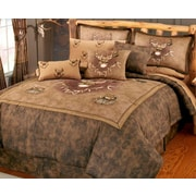 Blue Ridge Trading Whitetail Ridge Comforter Set; King