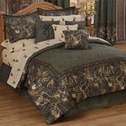 Browning Whitetails Comforter Set; King