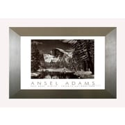 Pictures and Mirrors 'Half Dome' by Ansel Adams Framed Photographic Print