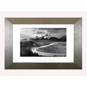 Pictures and Mirrors 'Tetons and The Snake River' by Ansel Adams Framed Photographic Print