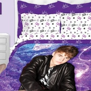 Linen Depot Direct Justin Bieber Starburst Print 3 Piece Comforter Set