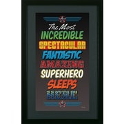 Pictures and Mirrors Superhero 2 Framed Wall Art