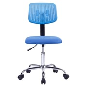 Porthos Home Shannon 30.3'' Adjustable Office Chair; Blue