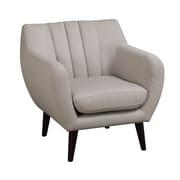 A&J Homes Studio Retro Styled Arm Chair; Beige