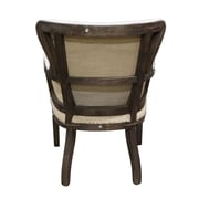 White x White Jacques Arm Chair