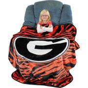 College Covers Georgia Bulldogs Throw Blanket