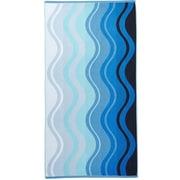 Arus Waves Terry Turkish Cotton Beach Towel