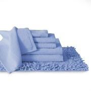Baltic Linen 7 Piece Towel Set; Ocean Blue