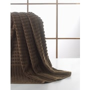 Ottomanson Pure Piano Bath Towel; Brown