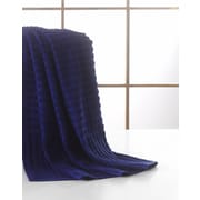 Ottomanson Pure Piano Bath Towel; Midnight Blue