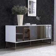 Casabianca Furniture Cuadro Buffet Table; White