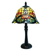 Fine Art Lighting Tiffany 16'' H Table Lamp with Bell Shade