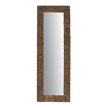 Jeffan Buzz Large Rectanglular Abaca Mirror