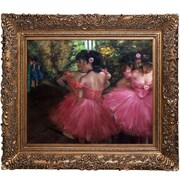 Tori Home Dancers by Edgar Degas Framed Painting Print